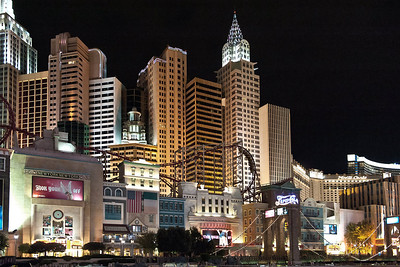 Las Vegas strip. (HDR)