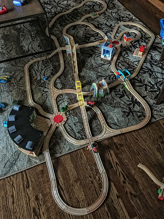 Grandkids' Train Project