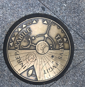 Seattle Manhole Cover - 6th Avenue