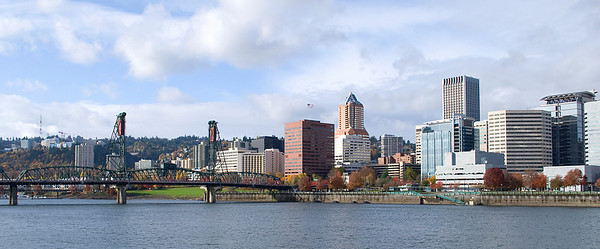 Portland, Oregon  Willamette River