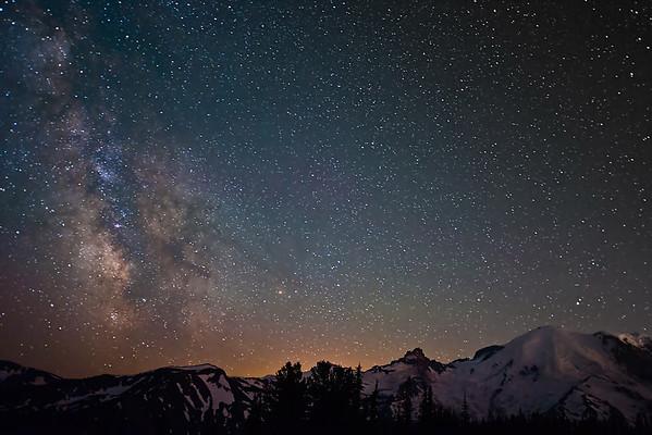 Milky Way Over Rainier 2013.07.13
