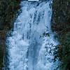 Multnomah Falls ice, Lower Falls (Dec 2009)