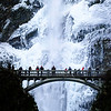 """12.08.13  <b>Frozen Multnomah Falls</b><br><br>The subfreezing temperatures didn't stop the crowds from coming to view this spectacle. <br><br><i>More pics at <a href=""""http://jrogers.smugmug.com/Out-About/Multnomah-Falls-Ice-Dec-2013"""">Multnomah Falls Ice Dec 2013</a></i>"""