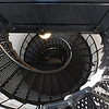 Staircase at Yaquina Head Lighthouse, Oregon