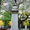 Soldiers' Monument, Douglas Tilden's monument to the Oregonians killed in the Spanish-American War. Dedicated on May 31, 1906, <br /> <br /> Lownsdale Square, Portland, Oregon