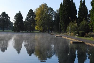 October Morning in Westmoreland ParkPortland, OR  Portland, Oregon