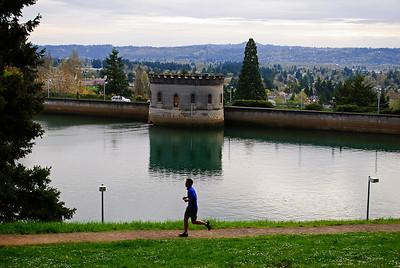 4.26.12   Reservoir at Mt. Tabor Park   Portland, Ore.