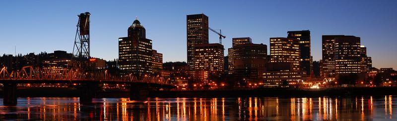 Portland Skyline #3  Portland, Oregon