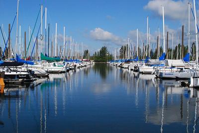 Tomahawk Island Marina Portland, OR  Portland, Oregon