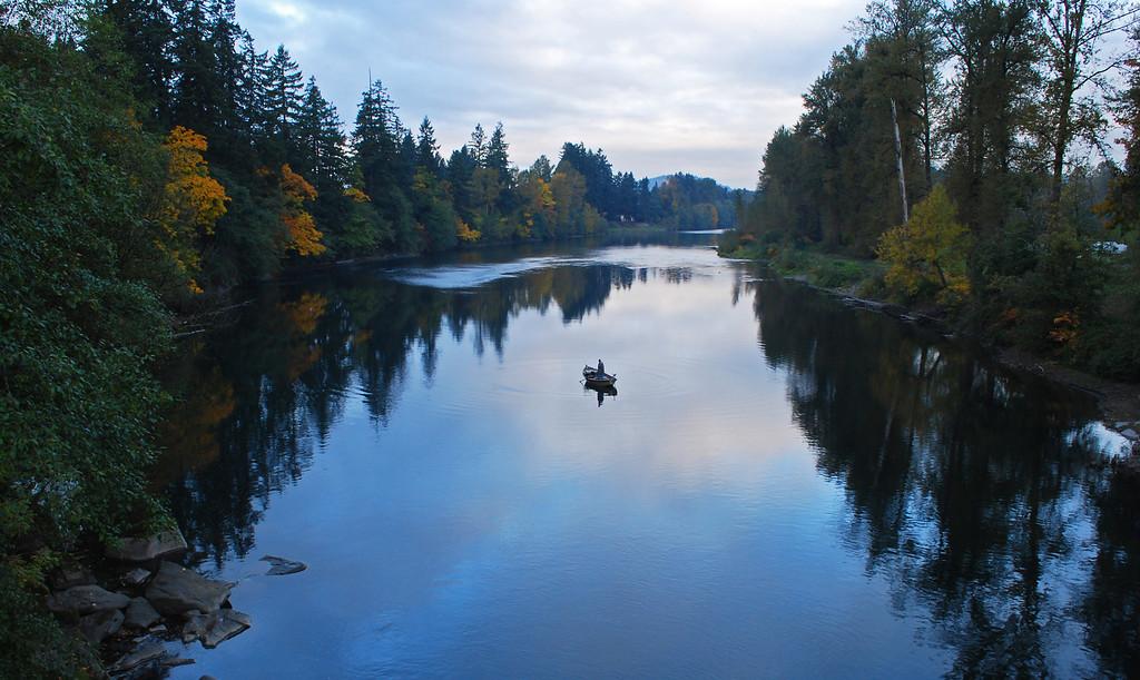 Clackamas River morning