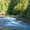 Clackamas River kayakers