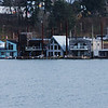 Houseboats on the Willamette River