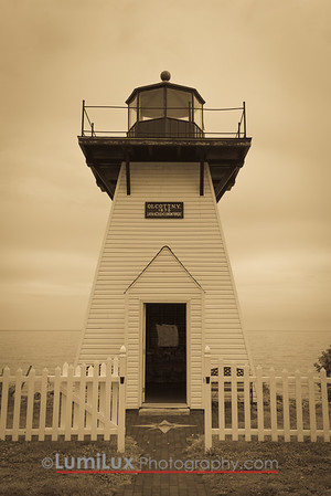 Replica Lighthouse, Olcott, NY