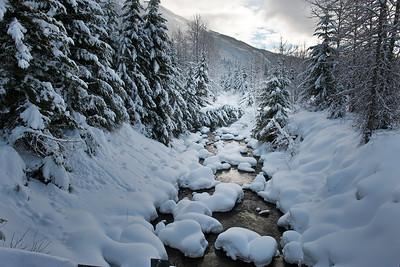 Snowshoeing Hyak