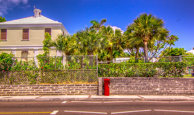 A little bit of England, Flatts, Bermuda.