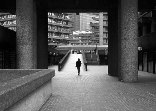 Taken on Analogue Film - The Barbican Centre