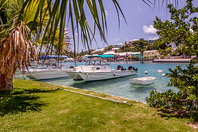 A Beautiful Inlet in Bermuda, 2013