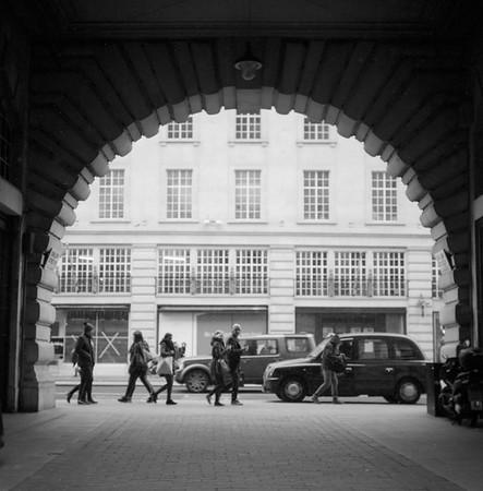 Taken on Analogue Film - Regents Street