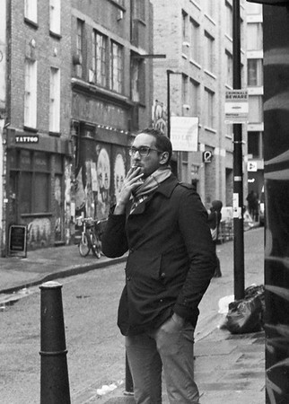 Taken on Analogue Film - Shoreditch
