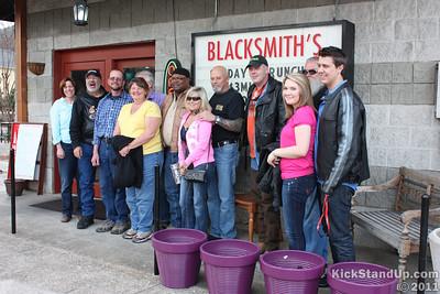 KSU Crew has brunch at Blacksmith's Bistro