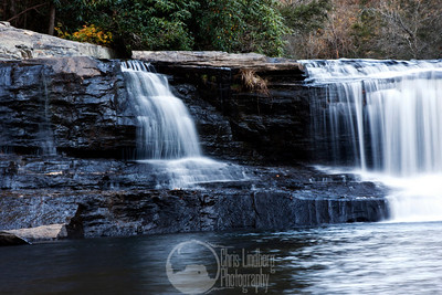 Hooker Falls on the Little River in Dupont State Forest.