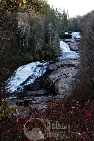 Triple Falls on the Little River in Dupont State Forest.