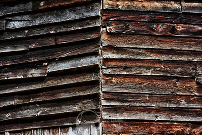 The siding of a barn at Cataloochee, Great Smoky Mountains National Park.  HDR composite