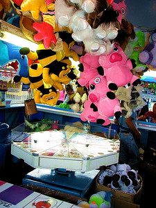 What Midway would be complete without games of chance and fat stuffed animals?
