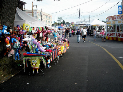 Sponge Bob, Teddy Bears, T-Shirts, Cowboy hats...whatever you wnat you can get it at the fair...unless it's useful that is.