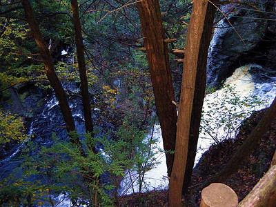 Bushkill's Main Falls