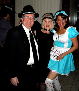 So we have a gangster, a flapper, and a Swiss yodeling champion.  Amazing!