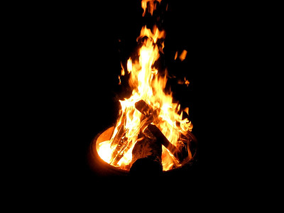 We have the bonfire...now all we're looking for is a witch.  Any volunteers?