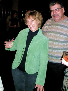 Jeanie switched from her traditional green sweatshirt to a green suede jacket.  Still the same Jeanie.  Rick has other thoughts.