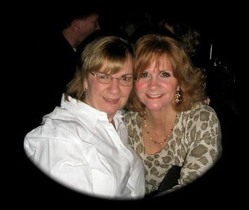 Great friends...Diane and Rebecca