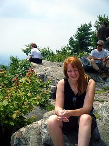 Sharon at the Pinnacle