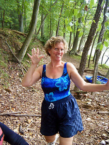Kathy - here comes CONFIDENCE!  She tamed the river too!