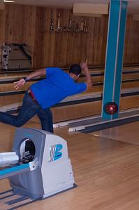 Dimitri's secret revealed! Float the bowling ball.
