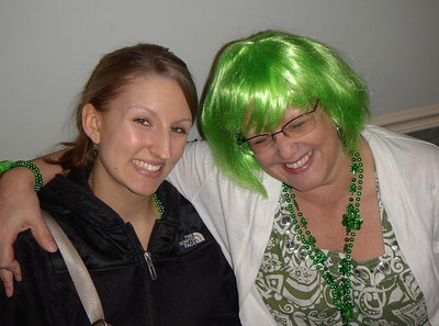 Speaking of granddaughters Rose brought her granddaughter Megan along to make sure she didn't misplace her green hair.