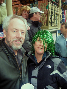 Bill and Amy...looks like Amy is having a bad wig day.  How about that look on Jodi's face in the background?  What's with that???