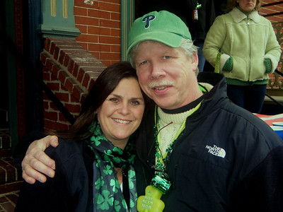 Lisa and Tim Lawler.  Two great reasons just to show up at the Saint Patty's Day Parade every year.