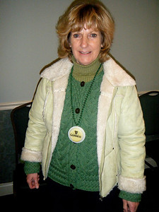 Jeanie of the Green Sweatshirt has switched to sweaters!