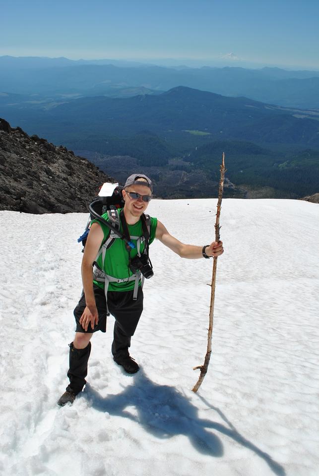 Mt St Helens Climb 6-30-2013