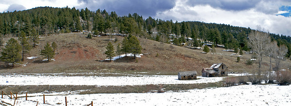Abandoned Small Ranch. Near Westcliffe, CO.