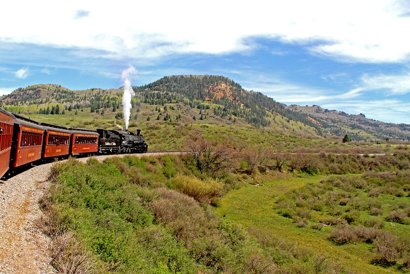 An unforgettable ride from Chama, NM to Antonito, CO aboard the Cumbres & Toltec Railroad.