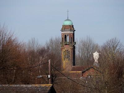Newbury Skyline - Victoria Park to St Josephs Catholic Church