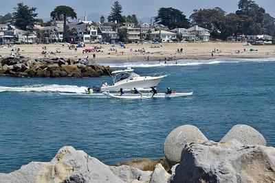 Capitola To Santa Cruz Yacht Harbor-8/19/18