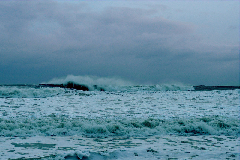 Hurricane Sandy Rough Surf<br /> Satellite Beach, Florida<br /> October 27, 2012<br /> 158-8897a