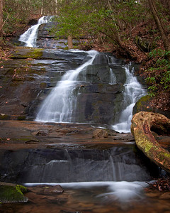 Falls Branch Falls, Cherry Log GA
