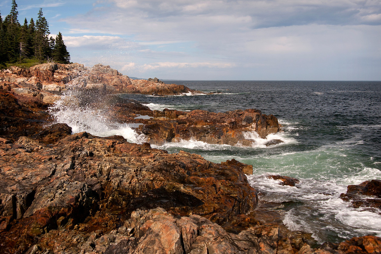 Near Little Hunter's Beach, Acadia National Park, Maine