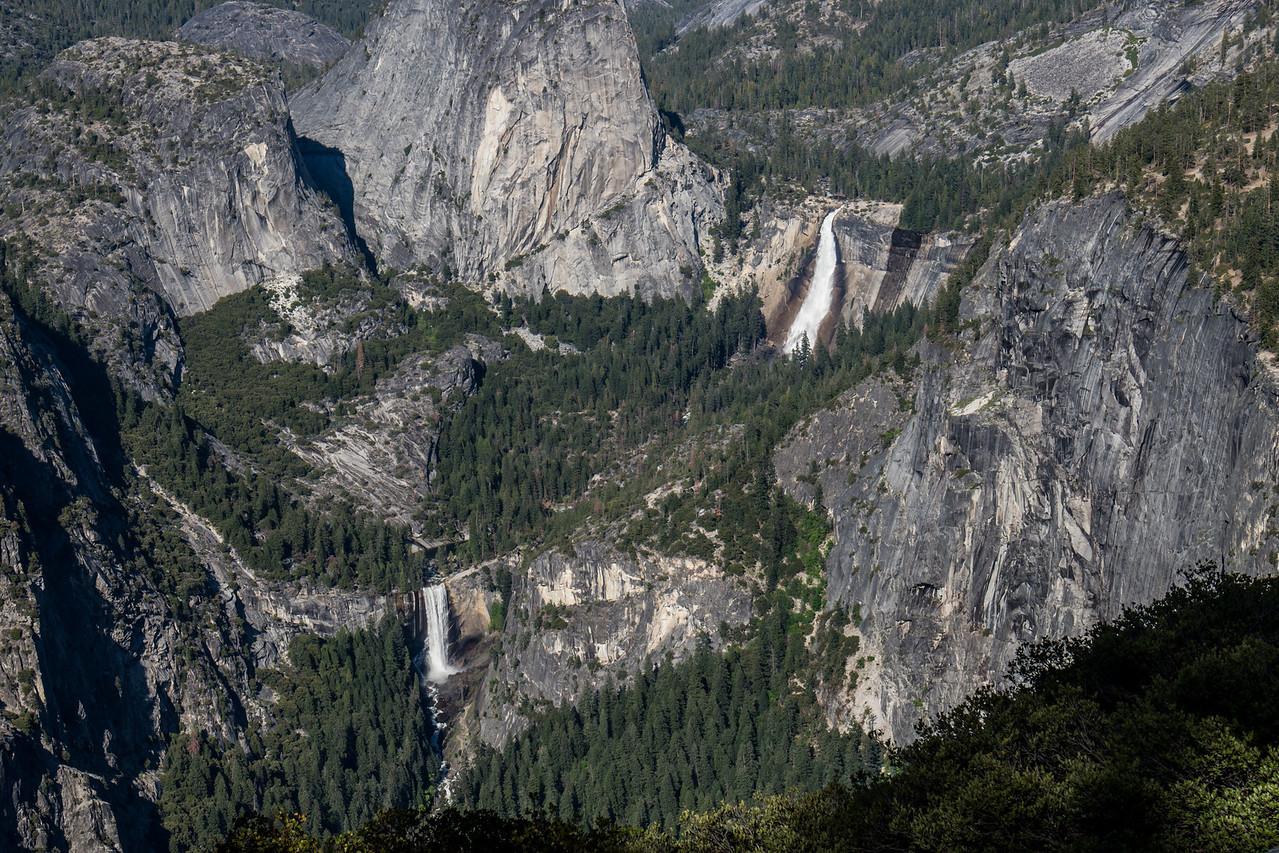 Nevada & Vernal Falls